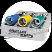 XL wheel mounting socket kit